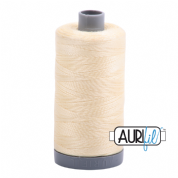 Aurifil 28 Cotton Thread - 2110 (Very Pale Yellow)